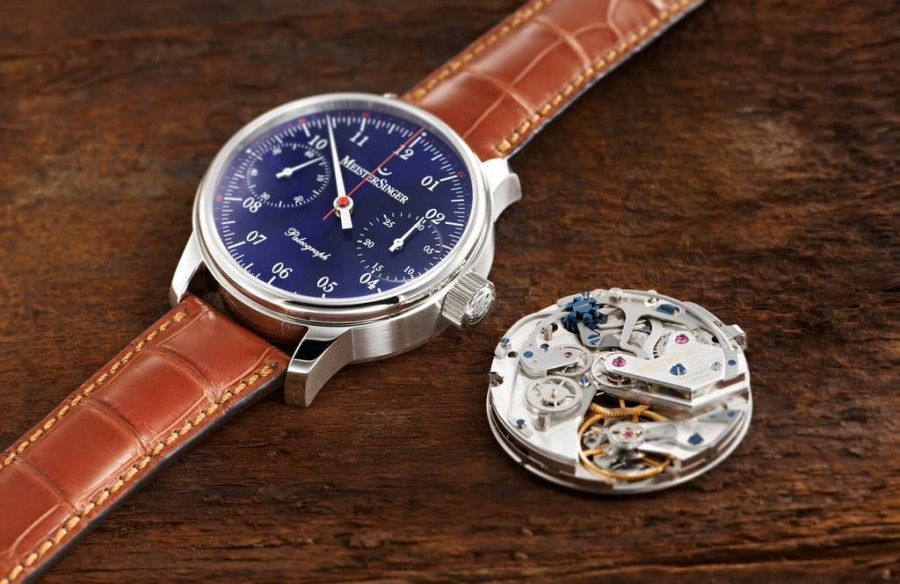 MeisterSinger Paleograph Blue Dial And Movement