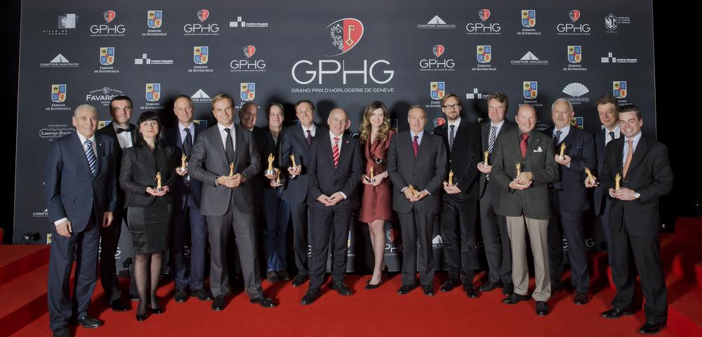 All of the 2013 GPHG's winners