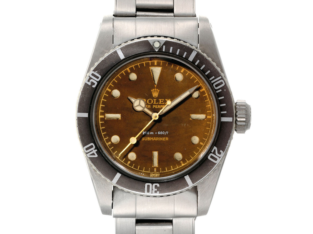 Tropical Rolex Submariner ref. 6538