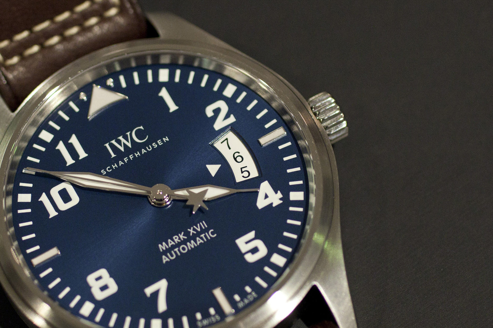 Deep Blue Dial And White Altimeter Style Date