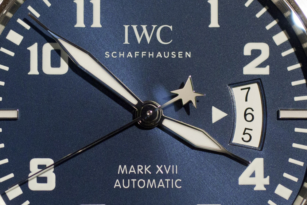 Dial Details Include Shooting Star On The Seconds Hand, White Date, and Long-Tipped Hands
