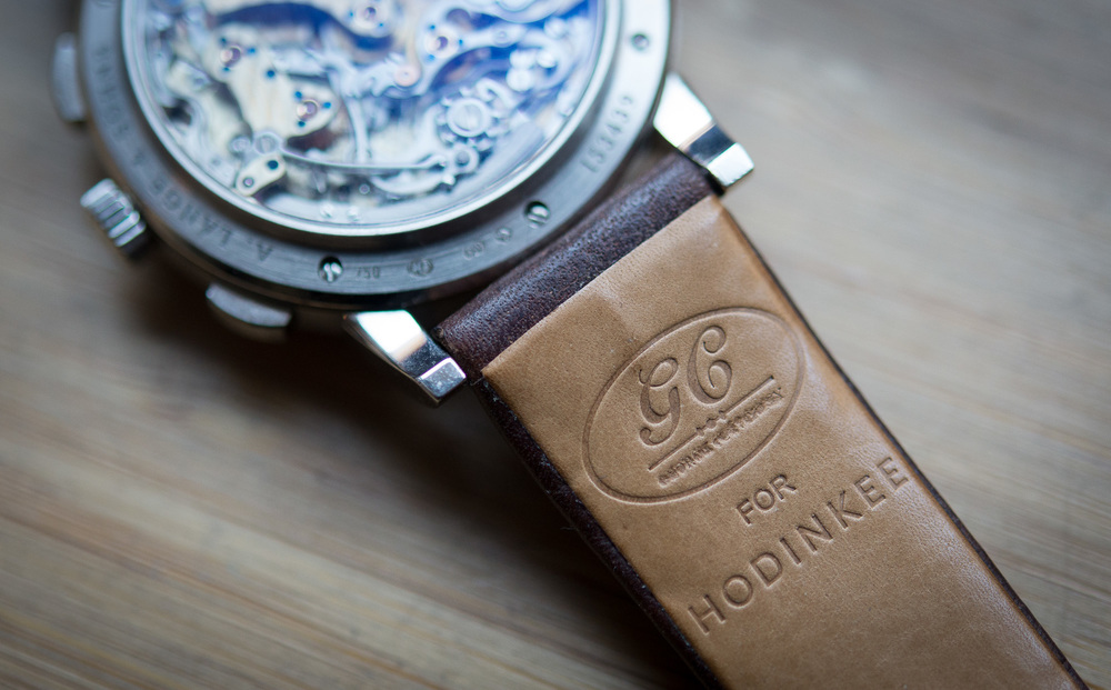 GJ Cleverley For HODINKEE Russia Leather Watch Strap