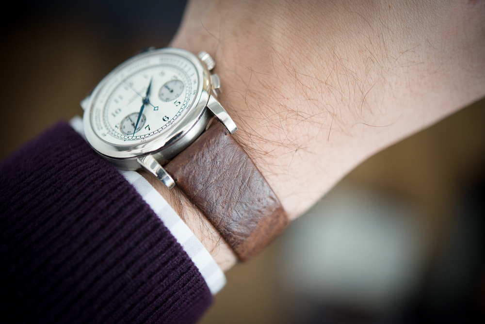 GJ Cleverley For HODINKEE Strap On The Wrist