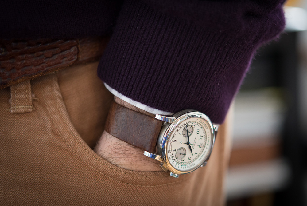 GJ Cleverley For HODINKEE Russia Leather Straps