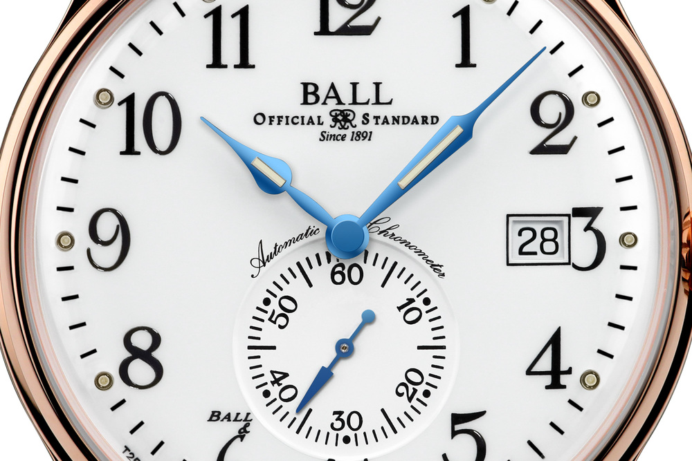 Closer Look At The Trainmaster Standard Time's Dial