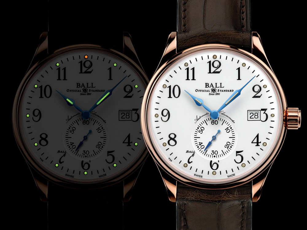 The Ball Trainmaster Standard Time In The Dark