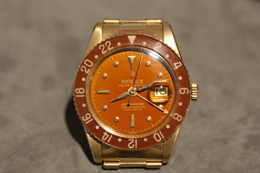 Gold Rolex GMT ref. 6542