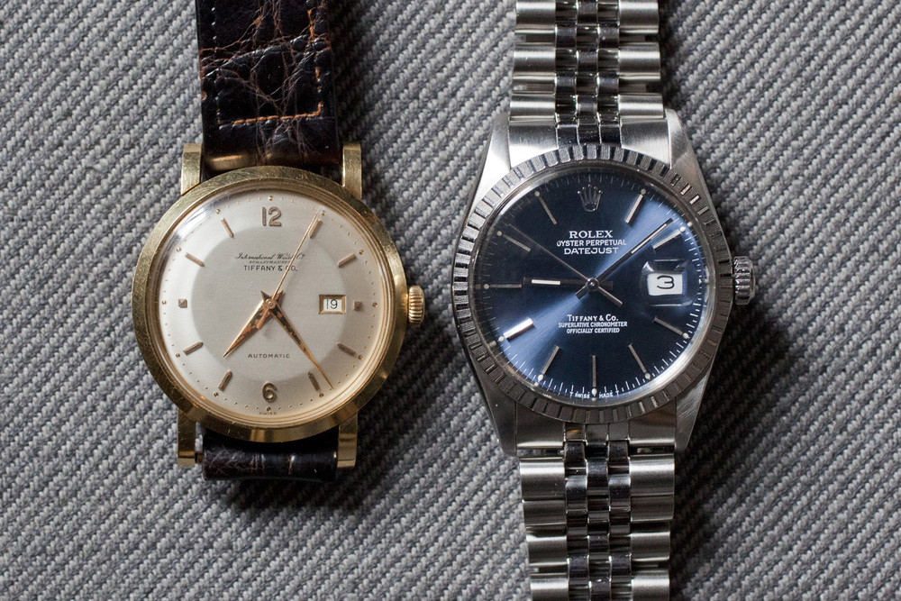 Tiffany&Co. Signed IWC & Rolex
