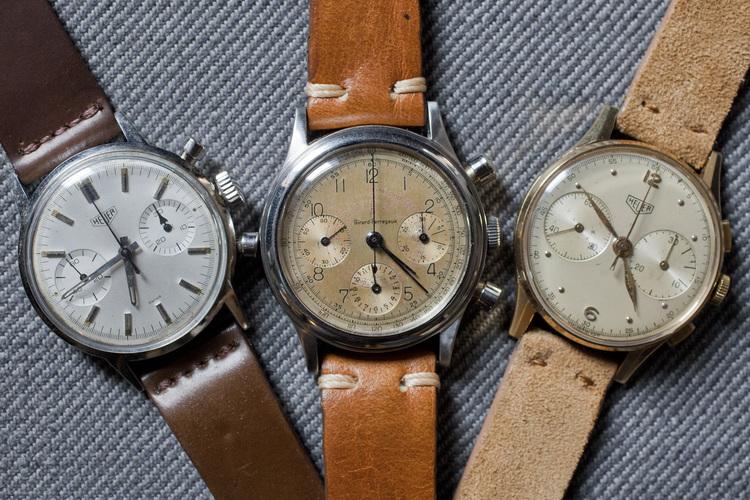 Classic Heuer & Girard-Perregaux Chronographs