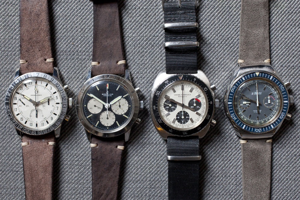 Funky, 1960s and 1970s Chronographs