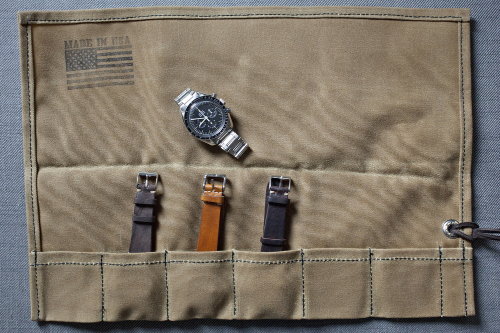 HODINKEE Canvas Watch Roll