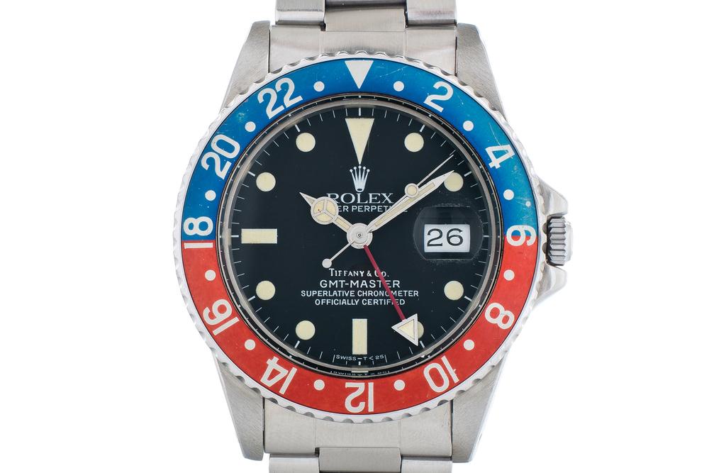 Tiffany & Co. Rolex GMT Master