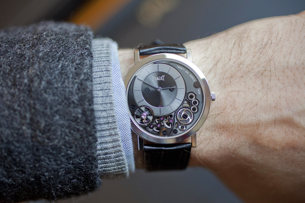 The Piaget Altiplano 900P On The Wrist