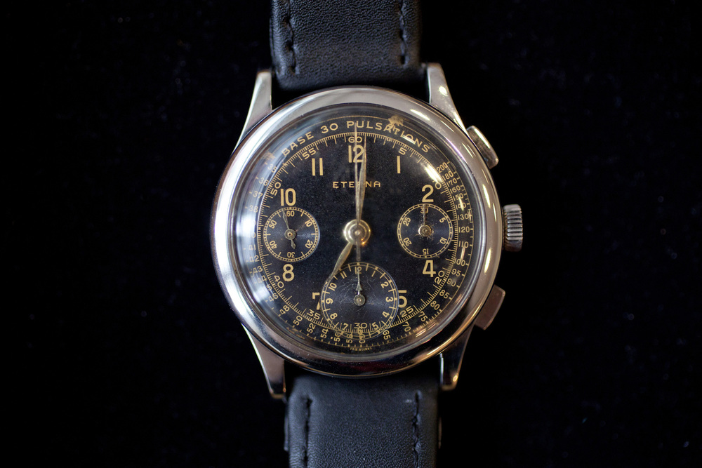 Oversized Eterna Chronograph From the 1950s