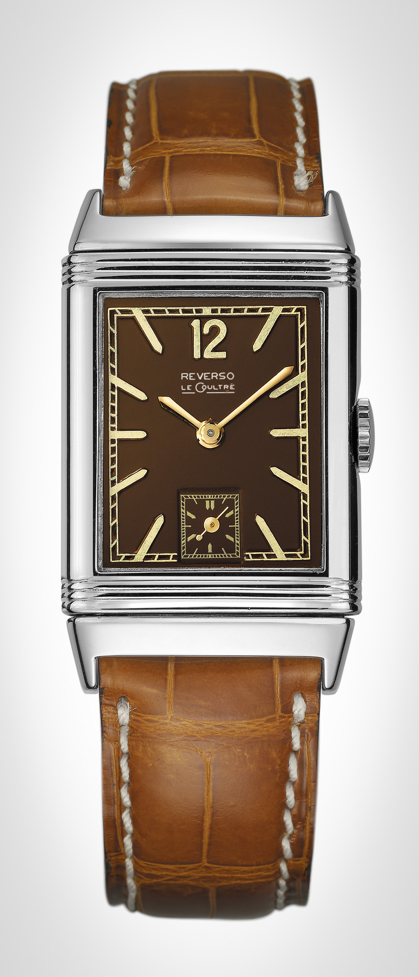 The inspiration for the new 2014 JLC Chocolate Reverso.