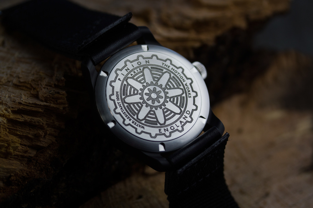 Pinion Watch Company Axis Caseback