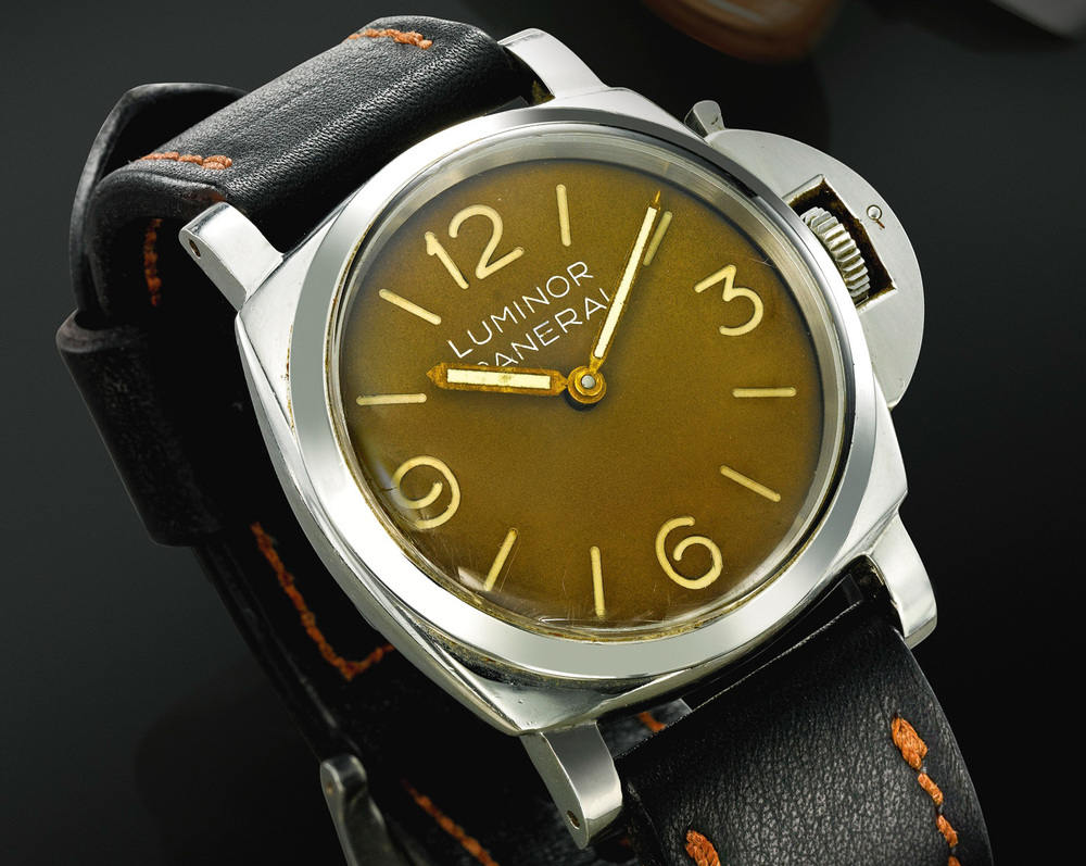 1955 Panerai Luminor With Rolex Case And Movement