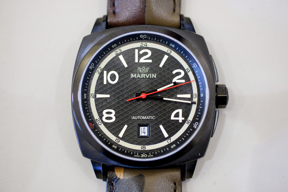 Hands-On With The Marvin Malton Military Cushion