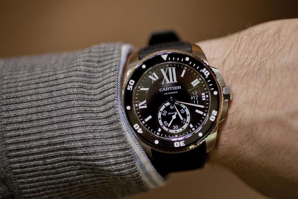Calibre de Cartier Diver On The Wrist