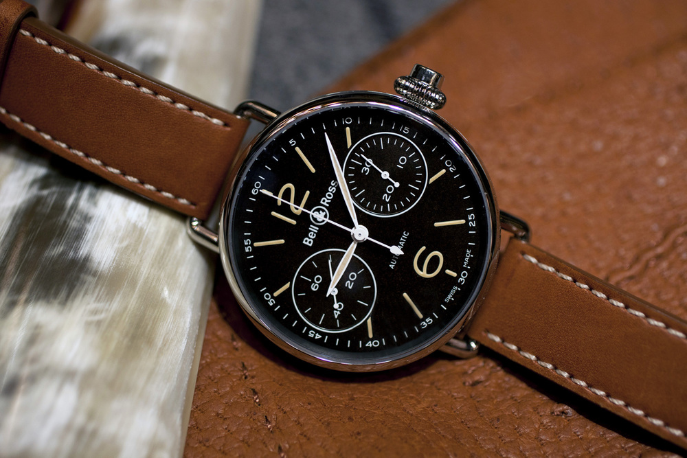 Black Dial With Luminous Hands and Markers