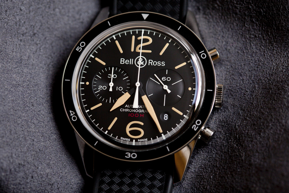 A Closer Look At The Bell & Ross BR 126 Sport Heritage Chronograph
