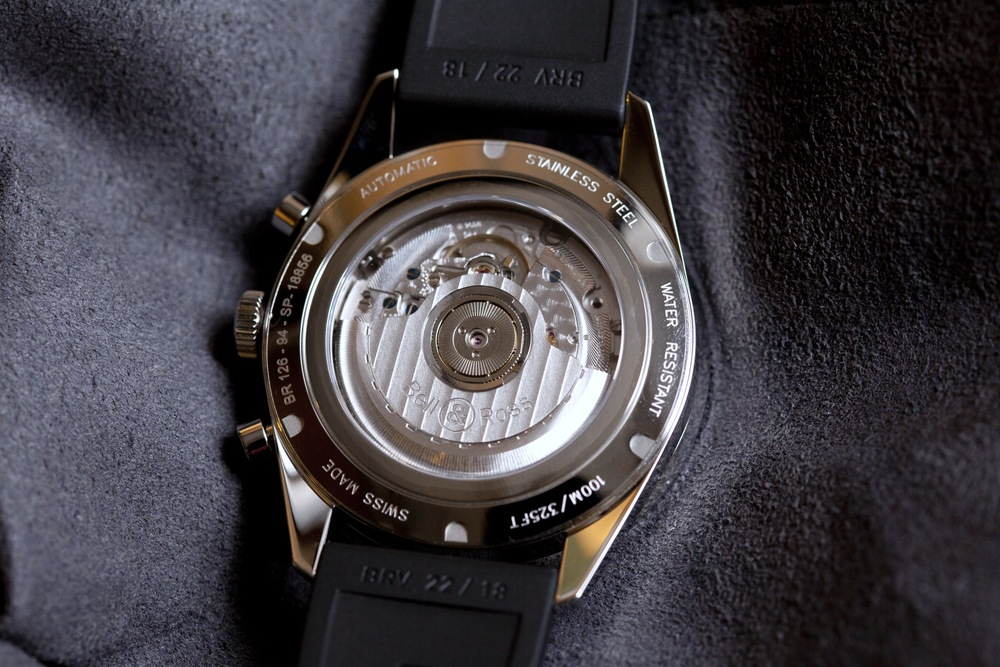 ETA Movement With Bell & Ross Rotor