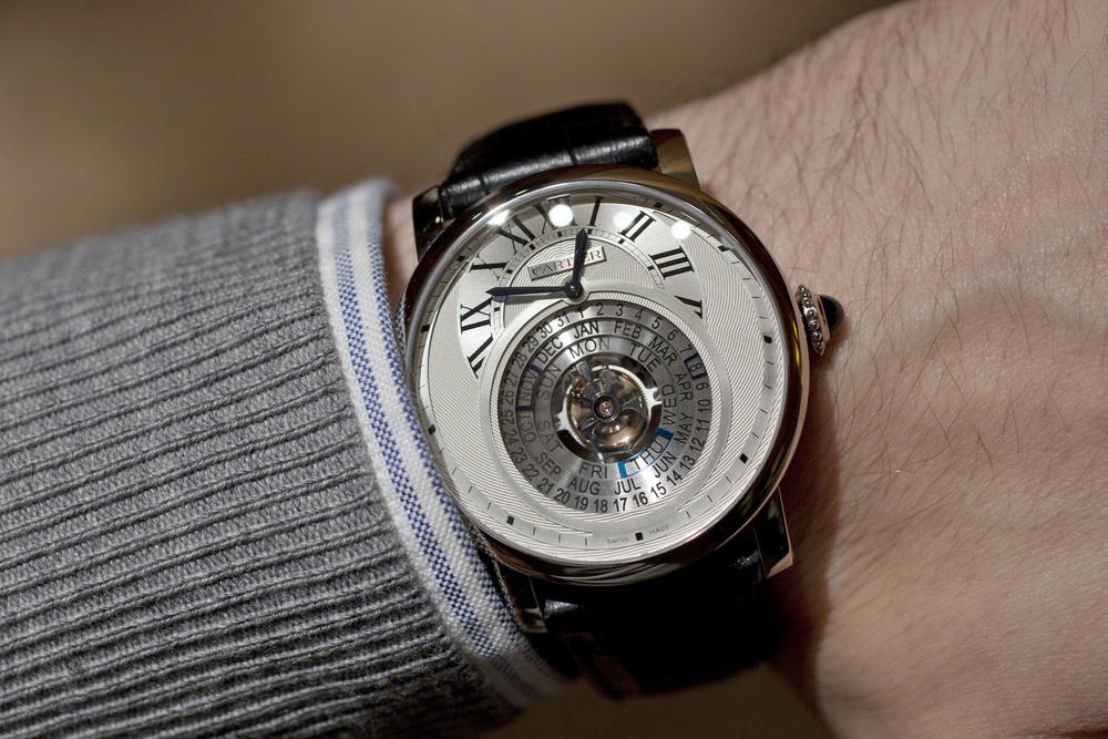 Cartier Astrocalendaire On The Wrist