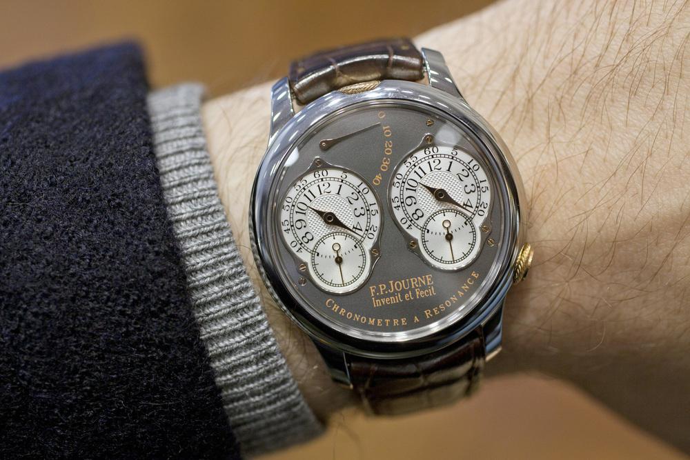 The Special EditionChronomètre à Résonance On The Wrist