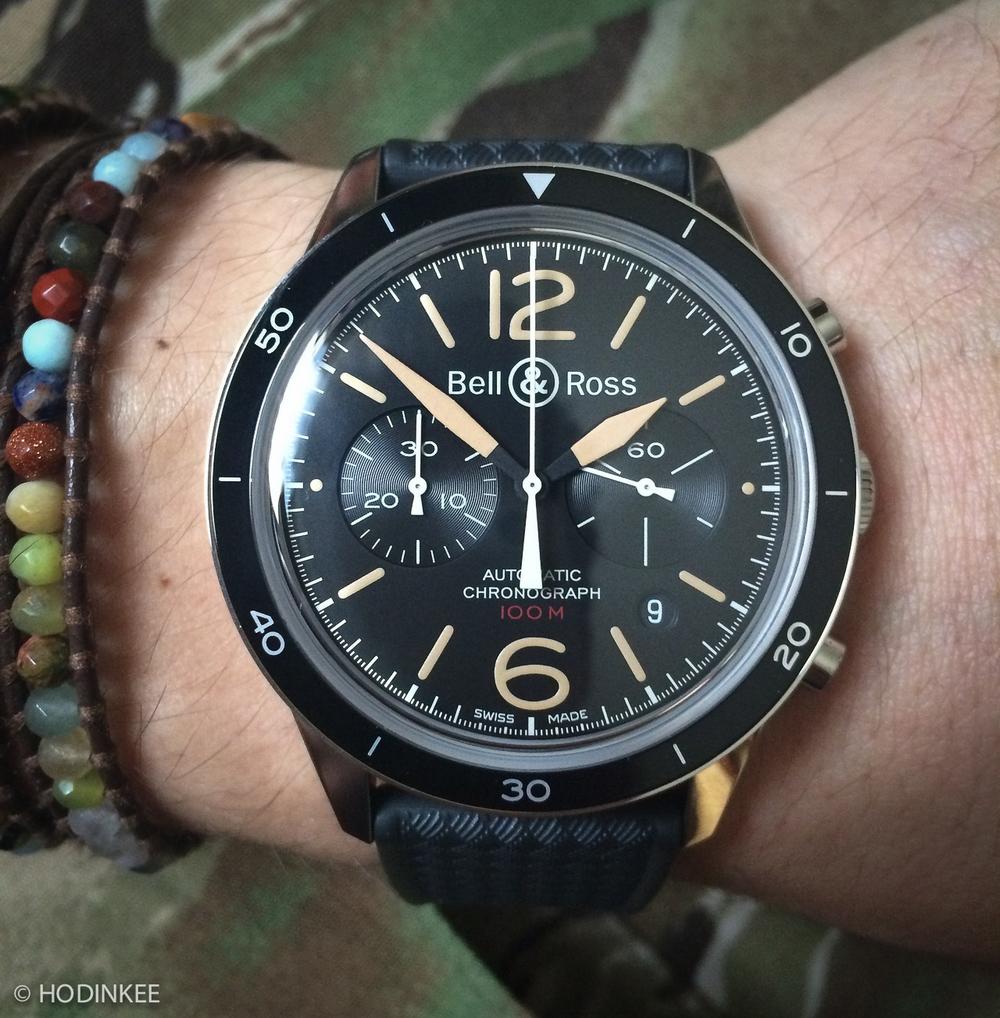 BR 126 Wears Great On The Wrist