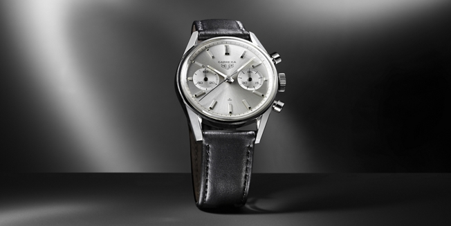 The Carrera that TAG Heuer mistakenly shows as dating to 1963