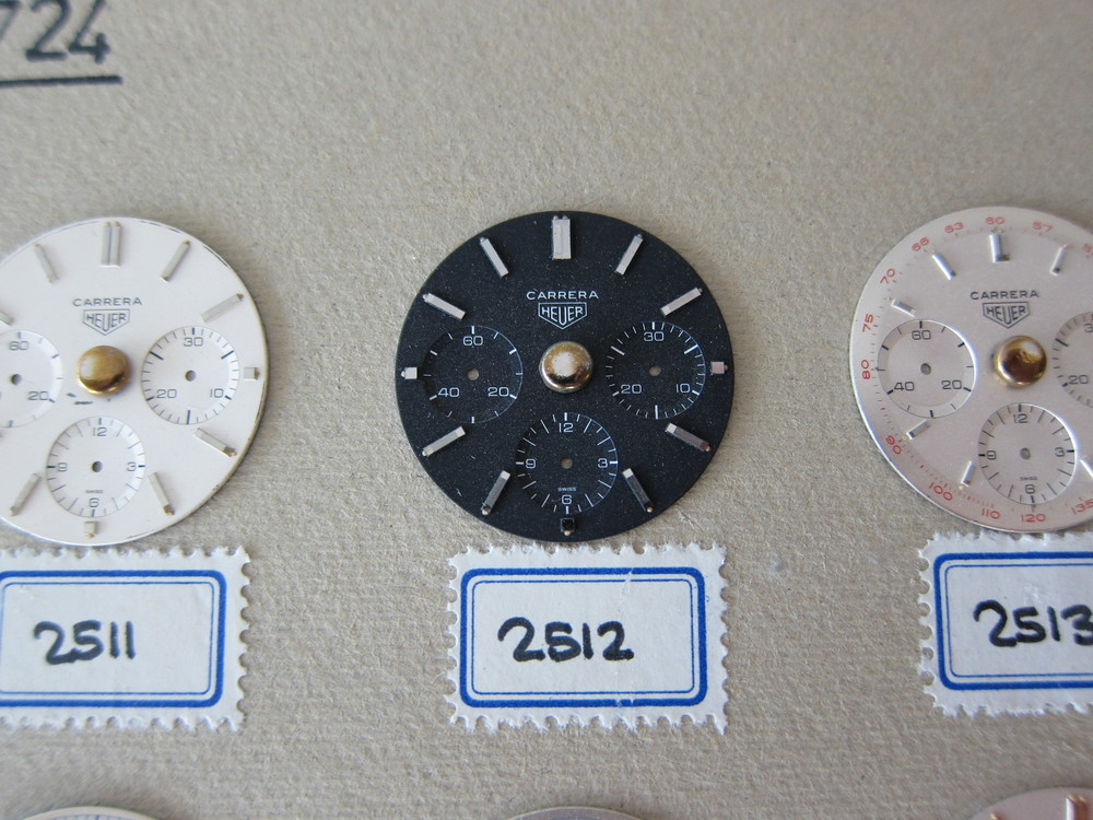 The earliest reference 2447 N Carrera dial in the Heuer archives