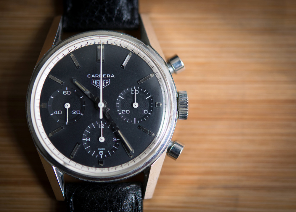 The First Heuer Carrera