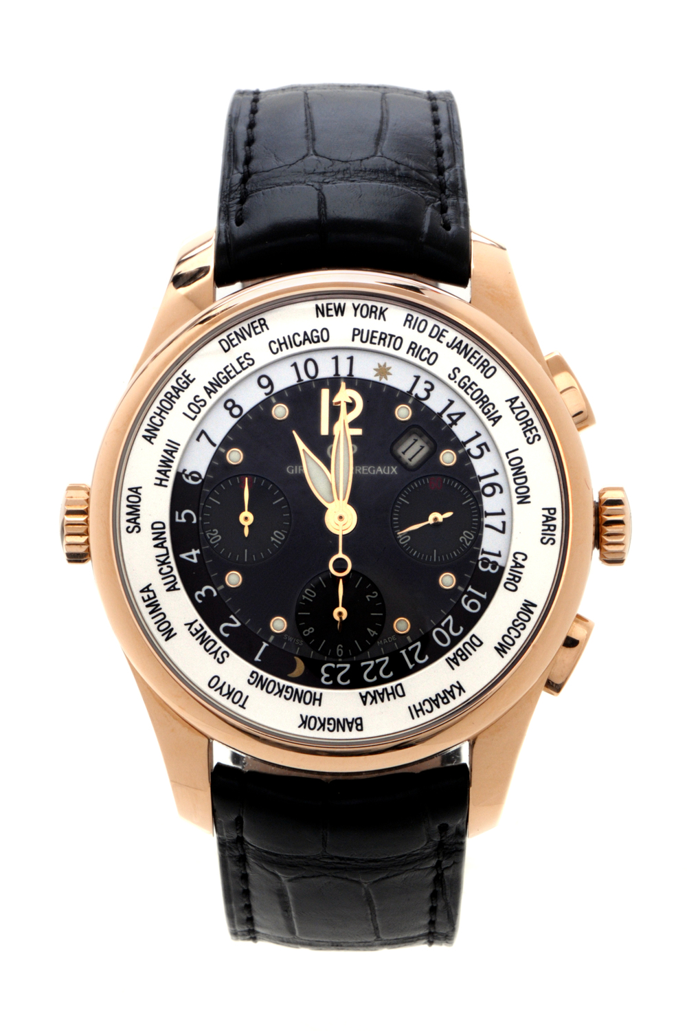 Connoisseur Collection: Girard-Perregaux World Wide Time Control Chronograph