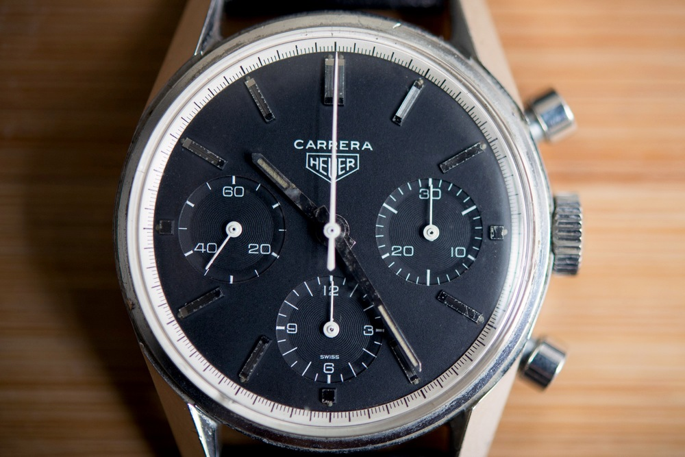 Closer Look At The First Carrera Dial