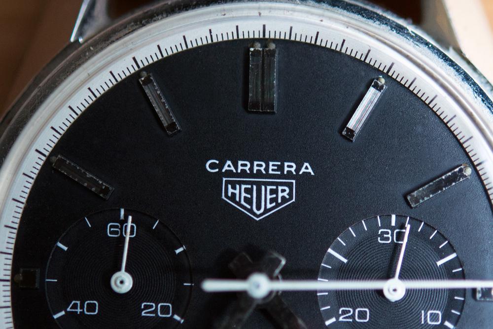 Heuer Carrera Signature and Baton Markers
