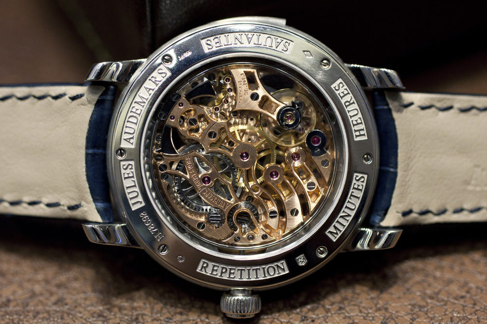 Movement Of The Skeletonized Jump Hour Minute Repeater