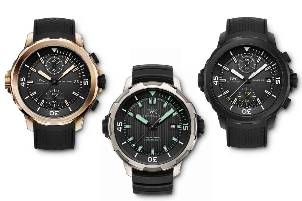 New IWC Aquatimer Collection