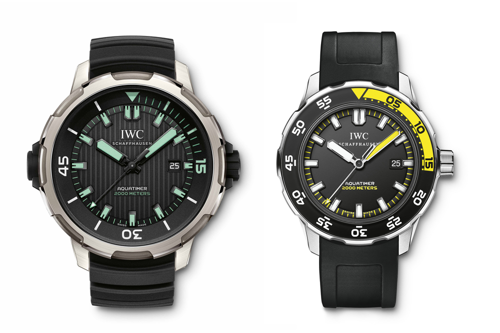 Aquatimer Automatic 2000 – 2009 and 2014 Editions