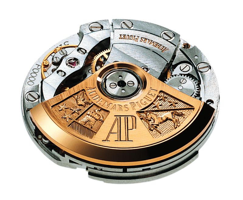 The AP Caliber 3120 - Considered by many to be one of the finest self-winding movements in the world.