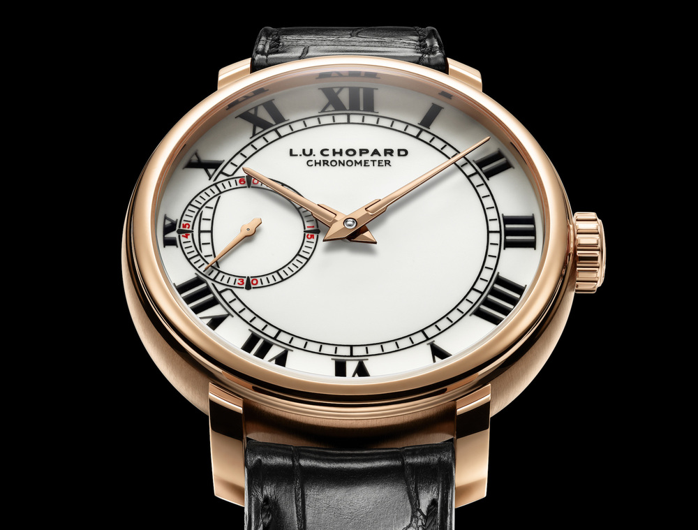 The L.U.C 1963 will be available in Rose Gold and Platinum