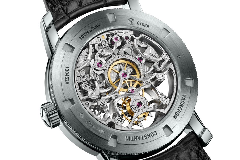 Back Of The Vacheron Constantin Patrimony Traditionnelle 14-Day Tourbillon Openworked