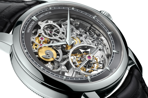 Dial Of The Vacheron Constantin Patrimony Traditionnelle 14-Day Tourbillon  Openworked