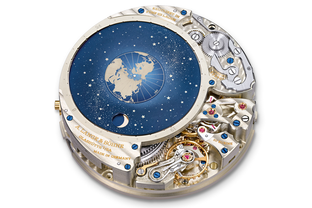 Patent-Pending Orbital Moonphase Indicator On The Calibre L096.1