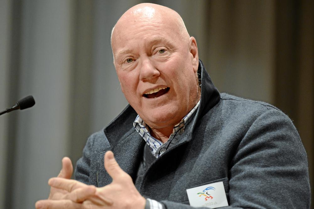 Jean-Claude Biver at the 2003 World Economic Forum. Photo Courtesy World Economic Forum
