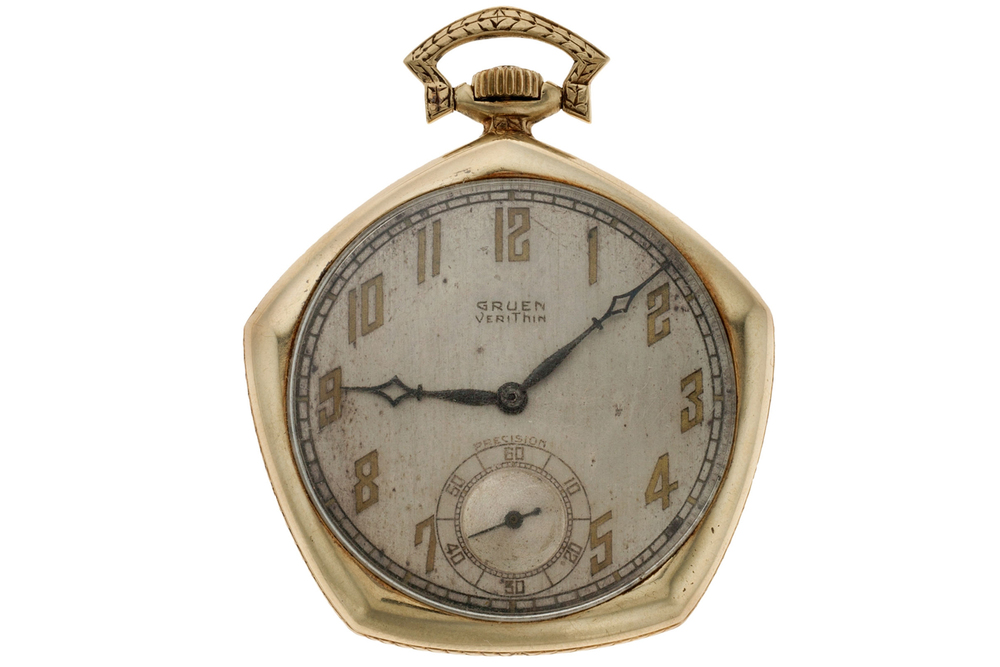 Babe Ruth's 1923 World Series Gruen Pocket Watch