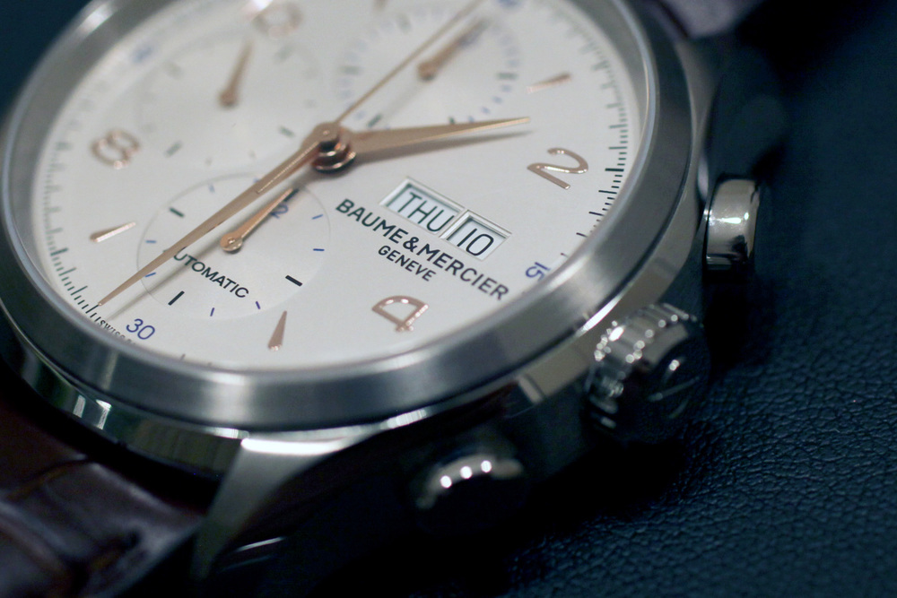 Clifton Chronograph Day and Date Windows