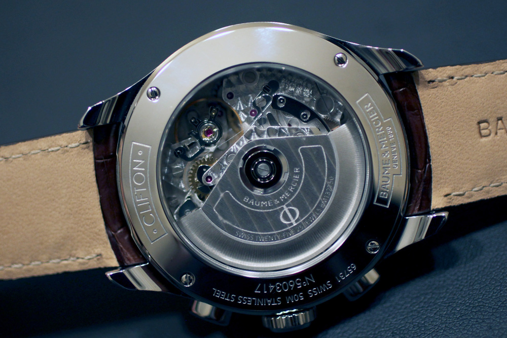 Valjoux 7750 Movement In The Clifton Chronograph