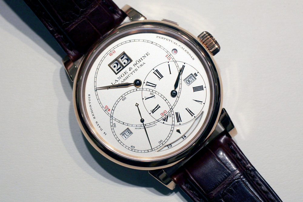 Hands-On With The A. Lange & Söhne Richard Lange Perpetual ...