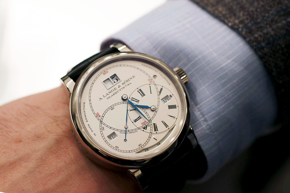 A. Lange & Söhne Richard Lange Perpetual Calendar Terraluna On The Wrist
