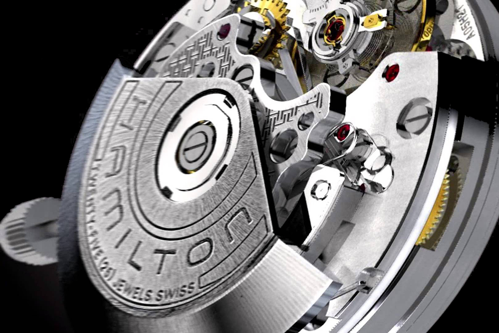 Hamilton's H-21 movement is based on the Valjoux 7750